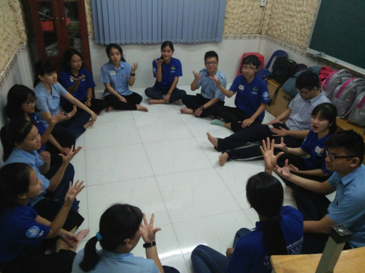 The Classrooms Renovation project at Hy Vong School improves the learning experience for children with hearing impairment